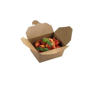 Box in poliestere mod.136709 collezione TAKE AWAY monouso , 21 x 16 x h 9 cm (conf. 40 pezzi)