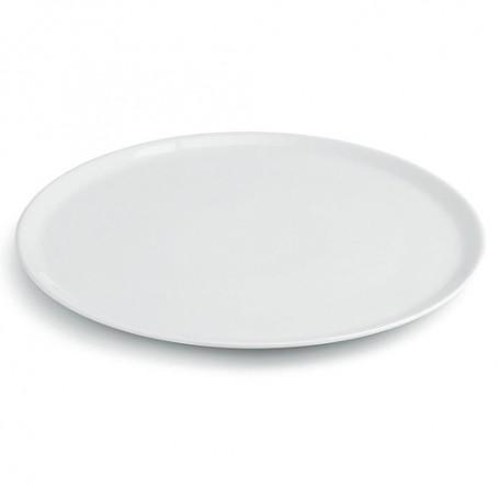 Piatto pizza Napoli Saturnia, mod. 32107 Morini, diametro 33 cm, colore bianco