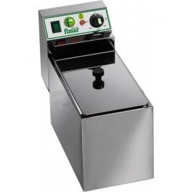 Friggitrice elettrica da banco mod. FR4 Fimar,1 vasca 4 litri, 50÷190°C, 18x44x31h cm