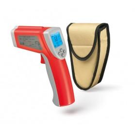 Termometro a infrarossi mod. Gunter Karel, schermo LCD, -50°/+580°C, divisione 0,1°C, allarme alta/bassa temperatura