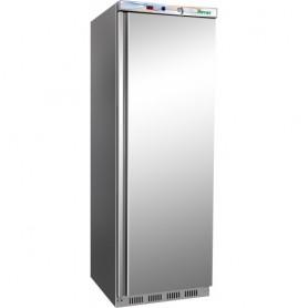 Armadio frigo statico Eco Line inox mod.G-ER400SS Forcar, cap.340 litri, +2°/+8°C, 3+1 griglie, 60x58,5x185,5h cm, 185 W