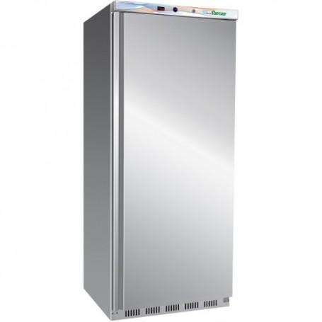 Armadio congelatore statico EcoLine inox mod. G-EF400SS Forcar, cap. 340 litri, -18°/-22°C, 6 ripiani, 60x59x186h cm, 150W