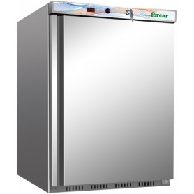 Armadio congelatore statico Eco Line mod. G-EF200SS Forcar, cap. 120 litri, -18°/-22°C, 2 ripiani, 60x58,5x88,5h cm, 105W