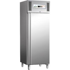 Armadio frigo ventilato Professional Line inox mod. G-GN650TN Forcar, cap. 650 litri, -2°/+8°C, 3 griglie GN 2/1, 74x83x201h cm