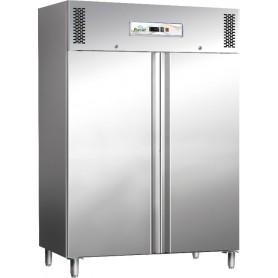 Armadio frigo ventilato Professional Line inox mod. G-GN1410TN Forcar, 2 porte, -2°/+8°C, 6 griglie GN 2/1, 148x83x201h cm