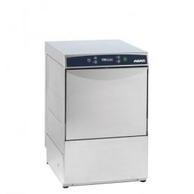 Lavabicchieri meccanica AF 40.30 Aristarco, cesto 40x40 cm, h utile 30 cm, vasca stampata, bracci di lavaggio e risciacquo inox