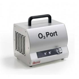 Sanificatore portatile all'ozono mod. O3 Port 10, produzione O3 g/h 10, in acciaio inox Aisi 304, per ambienti fino a 140 mq