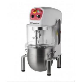 Planetaria da banco mod. SM12 Domino, vasca inox 12 litri, timer, frusta, gancio e spatola in dotazione, Monofase