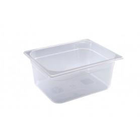 Contenitore in polipropilene gastronorm, misura GN 1/2, 4 altezze (65/100/150 e 200 mm)