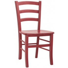 Sedia per interni mod. 1036-G02 Rossanese in legno, disponibile in 4 colori