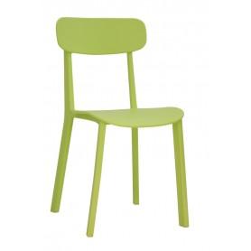 Sedia per esterno mod.1152-M44 Rossanese in polipropilene, 6 colori