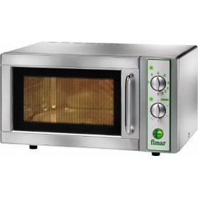 Forno a microonde con grill MF914 Fimar Easyline, piatto rotante, comandi digitali, cap. 25 litri, 1 magnetron