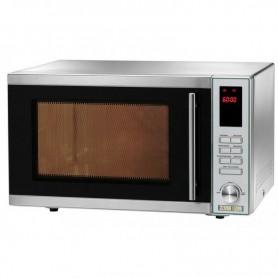 Forno a microonde con convenzione e grill MC2452 Fimar Easyline, piatto rotante, comandi digitali, cap. 25 litri, 1 magnetron