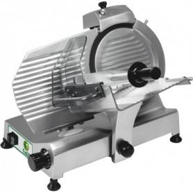 Affettatrice a gravità H250N Fimar con affilatoio, lama in acciaio inox ø 250 mm, potenza 0,23 kW, monofase