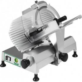 Affettatrice a gravità HL300 Fimar con affilatoio, lama in acciaio inox diametro 300 mm, potenza 0,37 kW, Monofase/Trifase