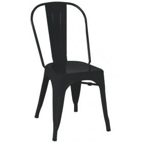 Sedia per interni mod. 976-ET53 Rossanese in metallo verniciato, disponibile in 8 colori, impilabile