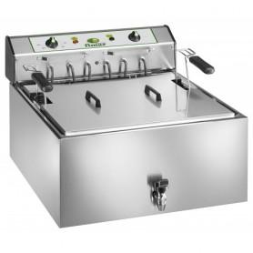 Friggitrice elettrica da banco per pasticceria mod. SF25P Fimar,1 vasca 25 litri, 50÷190°C, 59x66x48h cm