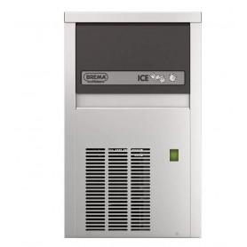 Produttore di ghiaccio mod. CB184W Brema, cubetto pieno, raffredd. ad acqua, produzione/h24 22 kg, disponibile in ABS o INOX