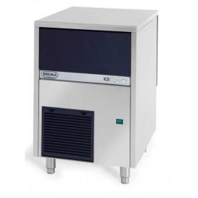 Produttore di ghiaccio mod. CB316W Brema, cubetto pieno, raffreddamento ad acqua, produzione giornaliera fino a 35 kg