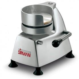 Hamburgatrice manuale mod. SA100 Sirman diametro 100 mm struttura in alluminio anodizzato e stampo in acciaio inox