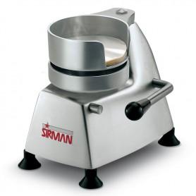 Hamburgatrice manuale mod. SA110 Sirman diametro 110 mm struttura in alluminio anodizzato e stampo in acciaio inox
