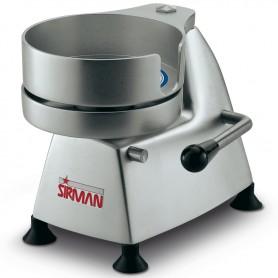 Hamburgatrice manuale mod. SA150 Sirman diametro 150 mm struttura in alluminio anodizzato e stampo in acciaio inox