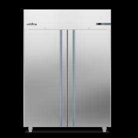 Armadio frigo Smart 1400lt mod. A140/2ME Coldline, -2°+8°C, 6 griglie GN 2/1, profondità 815mm, classe energetica B