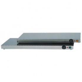 Piano caldo in acciaio inox mod. PC 4754 Forcar, +30°+90°C, 100x50x6hcm, 600W, Monofase