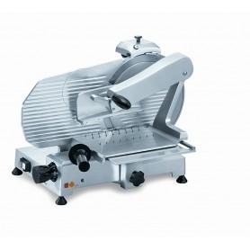 Affettatrice verticale AMVR300 Karel con affilatoio, lama in acciaio inox diametro 300 mm, potenza 0,21 kW Monofase