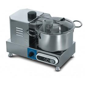 Cutter CSK33 Karel, capacità vasca in acciaio inox 3,3 litri, 1100-2600 giri al minuto con variatore velocità, 350 W