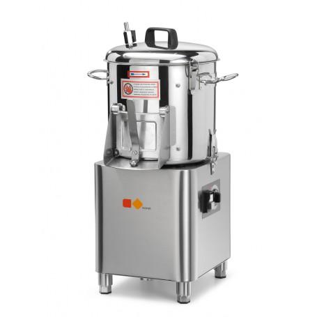 Pelapatate e lavacozze mod. PP6K Karel, capacità vasca 6 kg, 320 rpm, 370 W