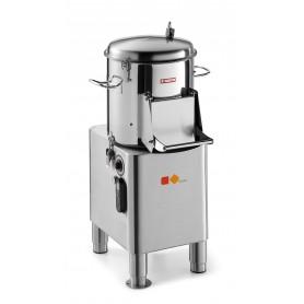 Pelapatate e lavacozze mod. PP10K Karel, capacità vasca 10 kg, 320 rpm, 735 W